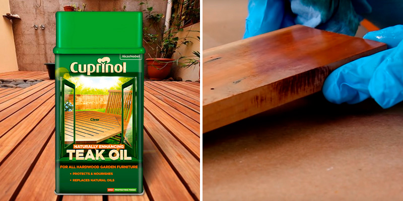 Review of Cuprinol 5212362 Teak Oil