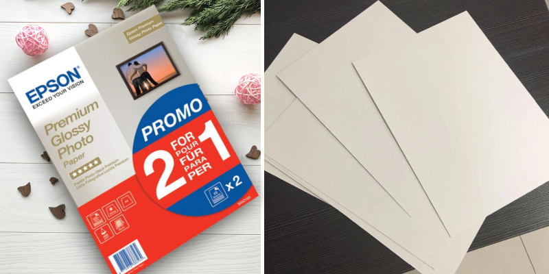Review of Epson 2x15 sheets 1-pack A4 Premium Glossy Photo Paper