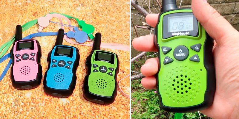 Review of Wishouse 3-Pack Rechargeable with USB Charger Battery Kids Walkie Talkies