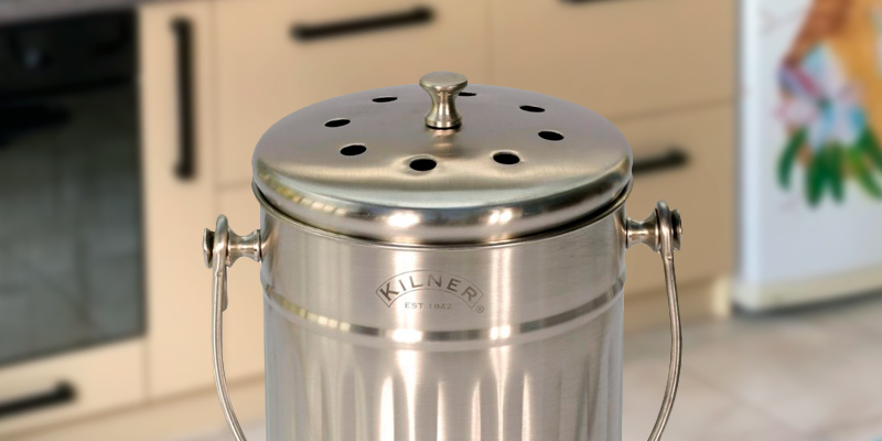 Review of Kilner EST 1842 0025.416 2 Litre Kitchen Composter