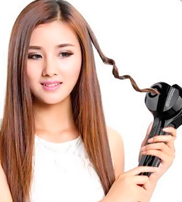 Review of Steamer Curl 004 Automatic Hair Steam Curler with LED Display, Ceramic