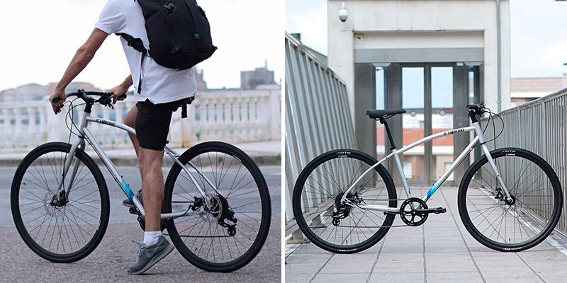 Review of FabricBike Commuter Hybrid Road Urban Bike