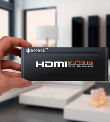 Review of Neoteck HDMI Splitter 4 Way