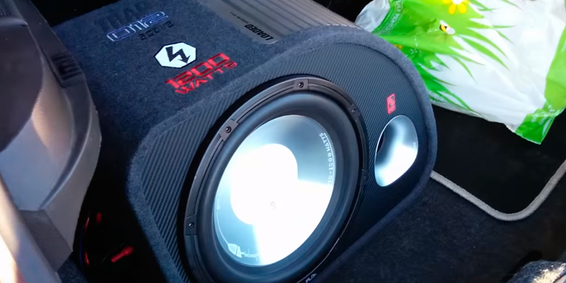 "Review of FLI FT12A-F6 12"" Car Amplified subwoofer enclosure 1000 Watts"