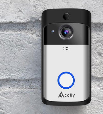 Review of Accfly C093WX Video Doorbell (2-Way Talk, Motion Detection, Night Vision)