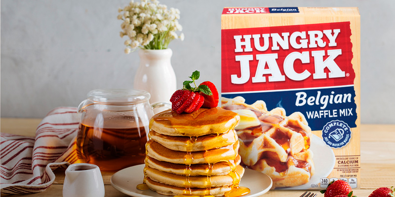 Review of Hungry Jack Complete Belgian Waffle Mix