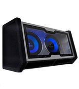 Auna C8-SUB-2X12-42 Dual In Car HiFi Subwoofer