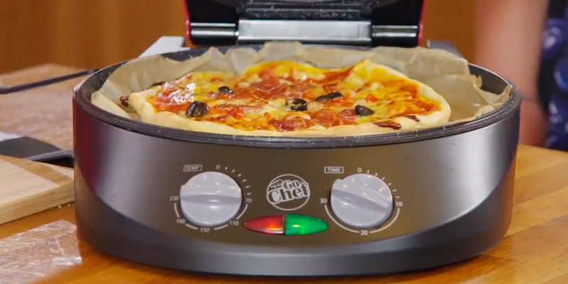 Review of JML Go Chef 3 Piece Countertop Combi-Grill, Pizza Maker