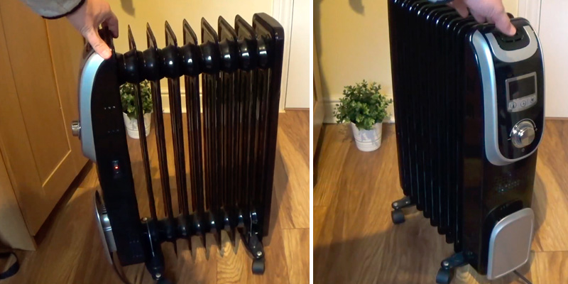 Review of Jack Stonehouse Oil Filled Radiator with Countdown Timer