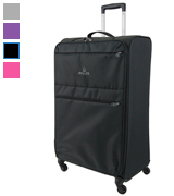 Skylite Luggage Club Four Wheel Spinner Lightweight Suitcase (Large)