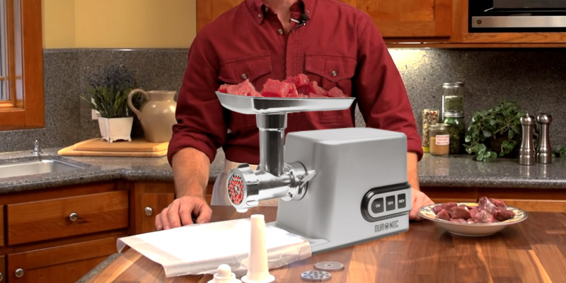 Review of Duronic MG301 Electric Meat Grinder and Mincer