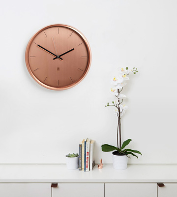 Review of Umbra 1004385-880 Meta Wall Clock Copper