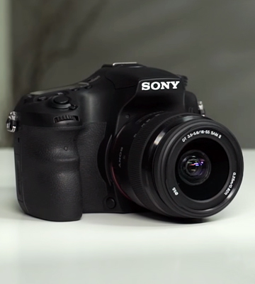 Review of Sony a68 (ILCA68K) DSLR Camera + 18-55 mm DT f/3.5-5.6 SAM II