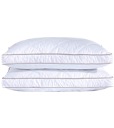 puredown Pack of 2 Goose Feather Pillows for Deep Sleeping