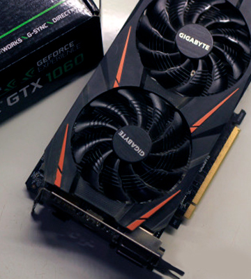 Review of Gigabyte GeForce GTX 1060 (GV-N1060WF2OC-6GD 2.0) WINDFORCE 2X OC D5X 6G GDDR5 PCI-E - Black
