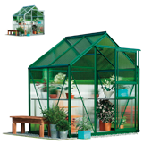 Garden Grow D9399A 6x4 ft Greenhouse