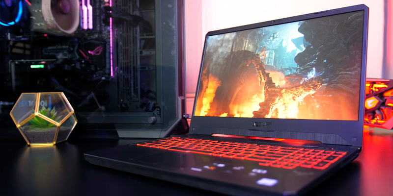 Review of ASUS TUF (FX505DY-AL006T) FHD 15.6-Inch 120Hz FreeSync Gaming Laptop (AMD Ryzen R5-3550H, Radeon RX560 4GB, 8GB RAM, 256GB SSD + 1TB HDD)