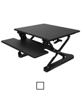 Yo-Yo Desk 90 BLACK Adjustable Standing Desk