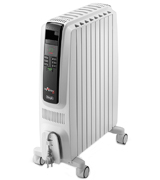 De'Longhi TRDS41025E Electronic Timer Oil Filled Radiator
