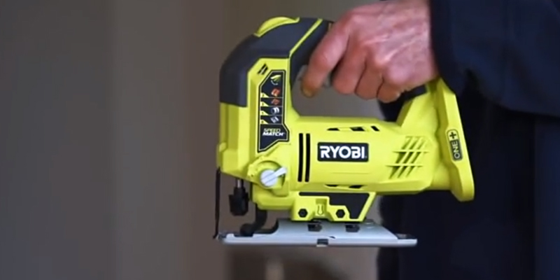 Review of Ryobi R18JS-0 ONE+ Jigsaw with LED