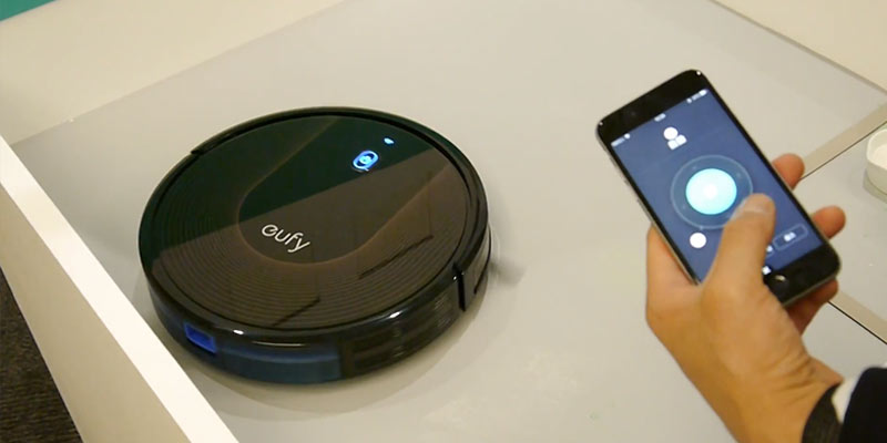 Eufy RoboVac 30C in the use