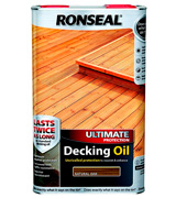 Ronseal 37299 Ultimate Protection Decking Oil