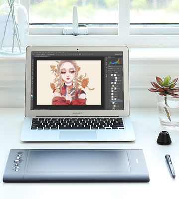Review of Huion H610 Pro 8192 Graphics Drawing Pen Tablet