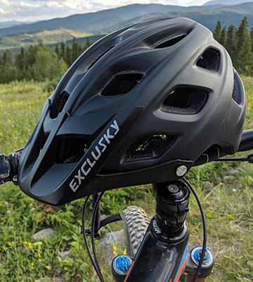 Review of Exclusky Lightweight Mountain Bike Helmet