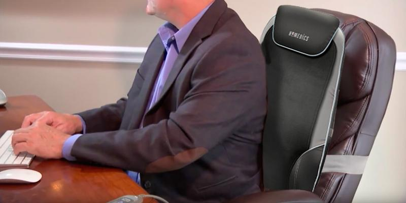 Review of HoMedics Deluxe Back and Shoulder Massage Chair