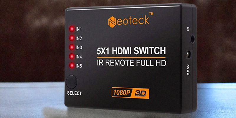 Review of Neoteck NTK035-V 5-Port HDMI Switcher with IR Remote Control
