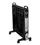 AMOS Micathermic Heater AMOS 2000W Oil-Free Mica Radiator 2 Heat Settings Home Office Micathermic Heater