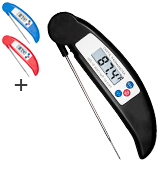 COOLEAD 3C-HH1TT13G Digital Instant Read Thermometer with Long Probe