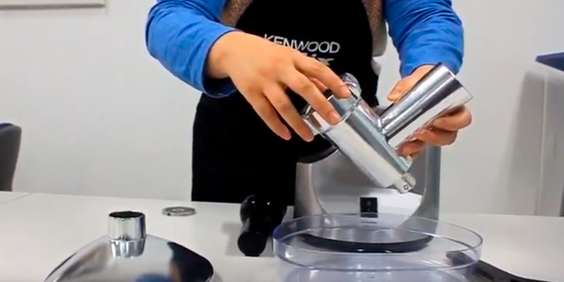Kenwood MG510 Meat Grinder in the use