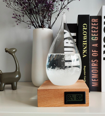 Review of Eno FITSKY Storm Glass Weather Predictor