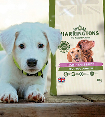 Review of HARRINGTONS The Natural Choice Dog Food Complete Lamb and Rice Dry Mix