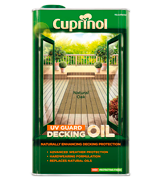 Cuprinol 5122415 UV Guard Decking Oil
