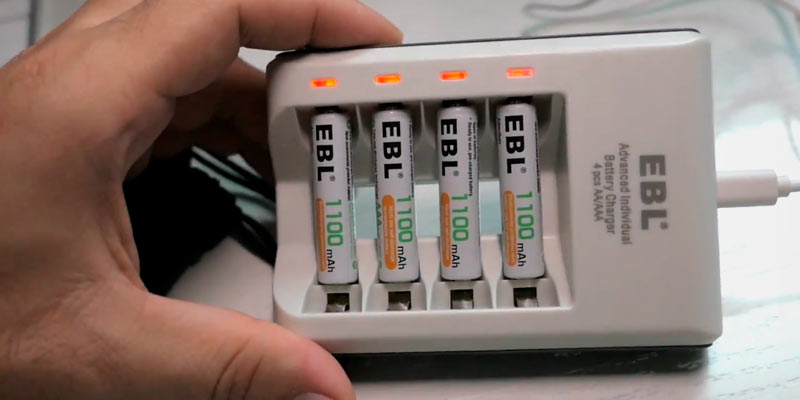 Review of EBL Ni-MH AAA Rechargeable Batteries