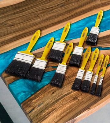 Review of Stanley HOBBY10 10 Piece Paint Brush Set