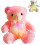 Wewill YZT0176_P Creative Super Cute Shining LED Teddy Bear