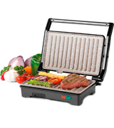 Salter EK2384 Marble Collection 2 in 1 Fold-Out Health Grill and Panini Maker