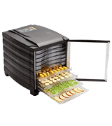 Buffalo 10 Tray Food Dehydrator With Timer And Door