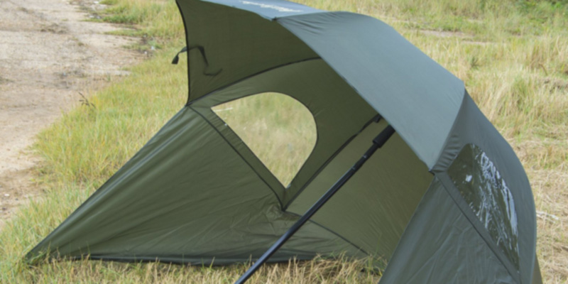 Review of Michigan Fishing Umbrella Shelter with Top Tilt Tent/Brolly/Bivvy
