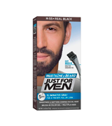 Just For Men Real Black M55 Moustache and Beard Facial Hair Colouring Kit
