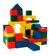 URBN Toys 871125244025 Construction bricks, wooden blocks