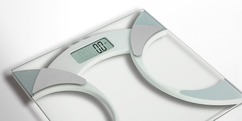 Salter 9141 WH3R Ultra Slim Analyser Bathroom Scale in the use
