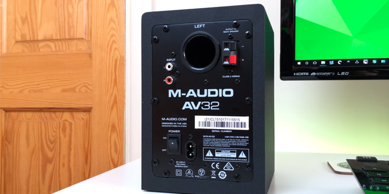 M-Audio 103294 Active Studio Monitor Speakers (Pair) in the use