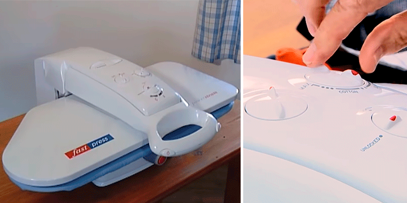 Review of Fast Press Ironing System with Spray Bottle + Instruction DVD