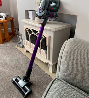 Review of VYTRONIX BCS01 Cordless Upright Handheld Vacuum Cleaner