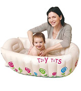 MTS Tiny Tots Inflatable Baby Bath Tub Portable