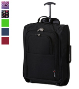 5 Cities TB023-830 Cabin Approved Trolley Bag, Wine